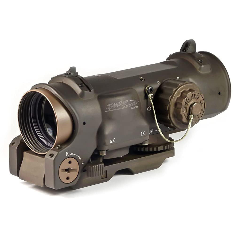 Elcan Specterdr 1/4x 5.56 NATO Flat Dark Earth