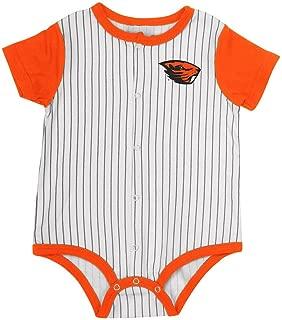 Colosseum Infant Oregon State Beavers Baseball Pinstripe Bodysuit