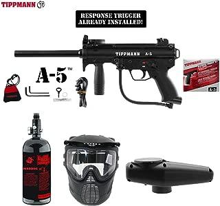 MAddog Tippmann A5 A-5 Beginner HPA Paintball Gun Package