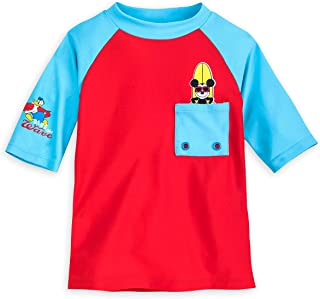 Mickey Mouse Rash Guard for Boys Multi
