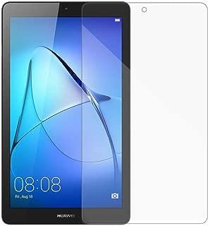 [2 Packs] Huawei MediaPad T3 7.0 Screen Protector, Huawei MediaPad T3 7.0 Tempered Glass Screen Protector, Anti-Scratch HD Screen Protector for 7.0'' Huawei MediaPad T3 7.0