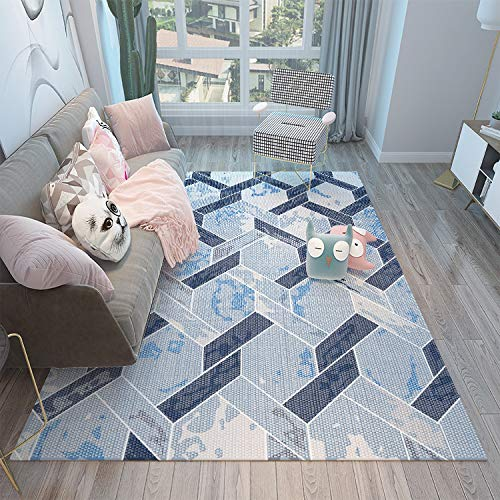MLKUP Modern Carpet Absorbent And Luxurious Viscoelastic Foam Easy To Care For Floor Mats 80x120cm