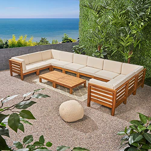 Great Deal Furniture Annabelle U Shaped Sofa Set
