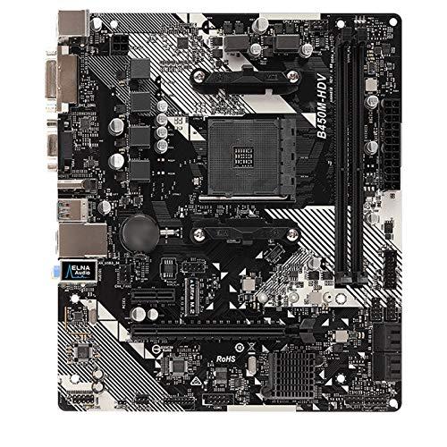 Diecast master Ajuste para Fit For Astrock B450M HDV R4.0 Placa Base M-ATX SATA 6GBPS HDMI DVI-D USB3.1 M.2 Socket AM4 B450 Placa Base de computadora