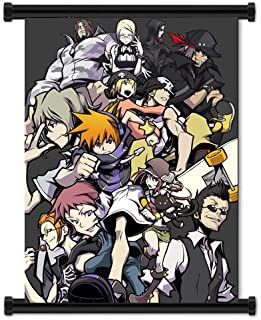 The World Ends with You Video Game Fabric Wall Scroll Poster (16
