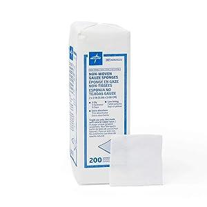 Medline NON25223 Avant Gauze Non-Woven and Sterile Sponge, 2
