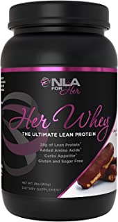 NLA for Her - Her Whey - Ultimate Lean Whey Isolate Protein - 28g of Lean Protein, Added Amino Acids for Recovery, Builds ...