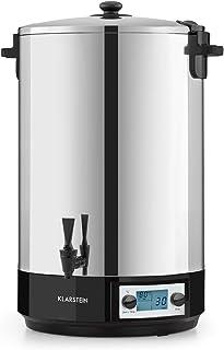 Klarstein KonfiStar 50 Digital - Stérilisateur automatique, Distributeur de boissons chaudes, 50 Litres, 2500 Watt, 30-100...