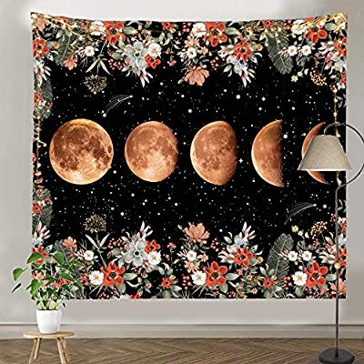 pinata Moon Phase Tapestry for Wall Hanging, Mo...