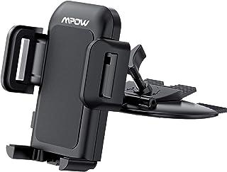 Soporte Universal de Móviles para Ranura del CD de Coches, Mpow Grip Pro 2 Car Mount Universal para iPhone 7 / 7plus, LG G5, Nexus 5X / 6 / 6P y Otro Smartphone GPS Navegador