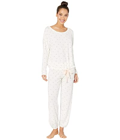 Eberjey Giving PJ Slouchy Set (Watermelons/Bellini) Women