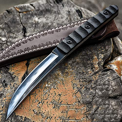 JGN Trading Katana Tactical Dagger Knife Fixed Blade Army 60HRC G10 Handle Tanto Outdoor Camping Survival Rescue Knives Combat Wilderness Hunting Knifes