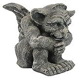 Design Toscano CL0883 Emmett The Gargoyle Gothic Decor Statue, Small 10 Inch, Single