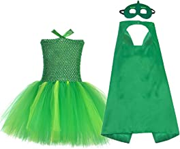 O'COCOLOUR Super Hero Dress Up and Costume Outfits Kids Birthday Party Tutu Dress Sets