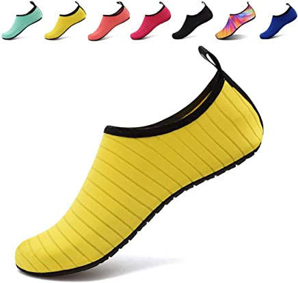 AoSiFu Barefoot Water Shoes Aqua Socks Surf Pool Yoga Beach Swim Exercise for Mens and Womens