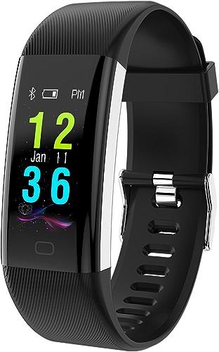 LJXAN Couleur Intelligente Bracelet Fréquence voiturediaque et la Pression Artérielle de Contrôle Multi-Langue ip68 étape étanche Compteur 0,96 écran Tactile