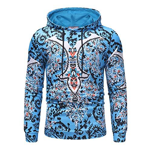 Men's Hoodies Long Sleeve Autumn Winter New Xmas Pattern Print Hooded Pullover Lightweight Hoodie Autumn Casual Hip hop Sweatshirt Spring Comfy Gym Running Tops XXL