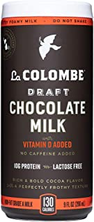 La Colombe Draft Chocolate Milk - 9 Fl Oz, 12 Count - Made With Real Ingredients - Grab And Go Coffee