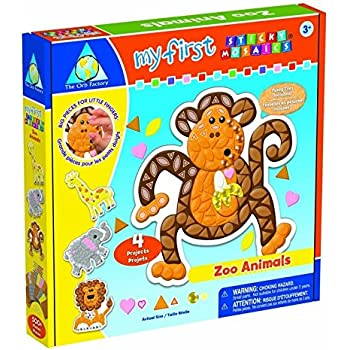 The Orb Factory Limited My First Sticky Mosaics Zoo Animals
