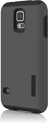 Incipio DualPro Case for Samsung Galaxy S5 - Retail Packaging - Gray/Black