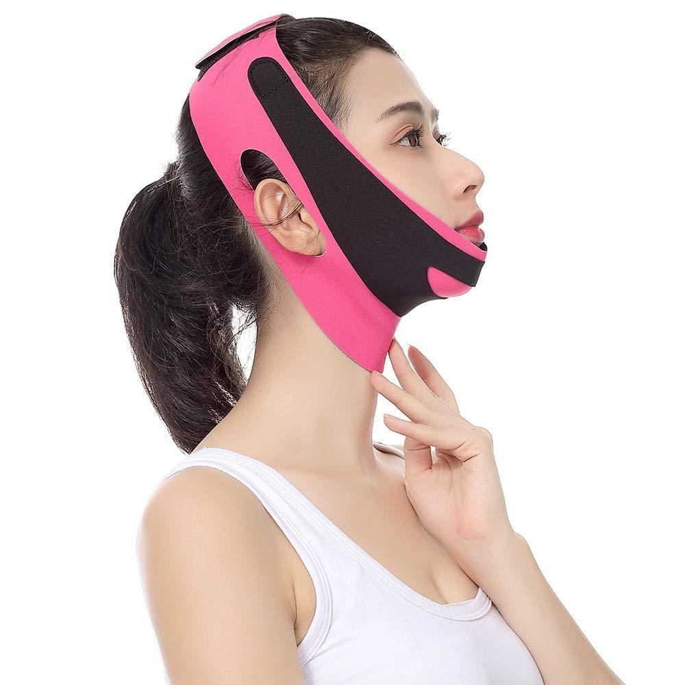 Double Chin Reducer safety Elastic Face Bandage Trust V Sh Slimming Line