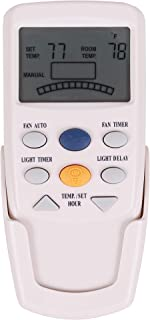 Eogifee Ceiling Fan Remote Control of Replacement of Hampton Bay FAN9T Thermostatic Remote Control with Fan Timer Only Remote
