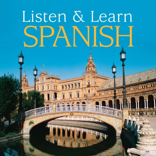 Listen & Learn Spanish cover art