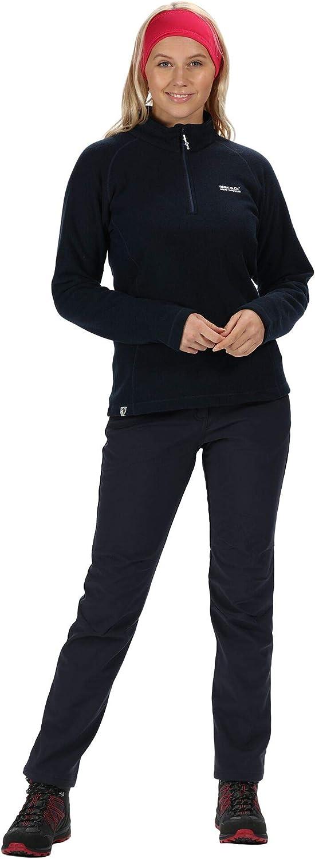 Pile Donna Regatta Womens Kenger Half-Zip Honeycomb Fleece
