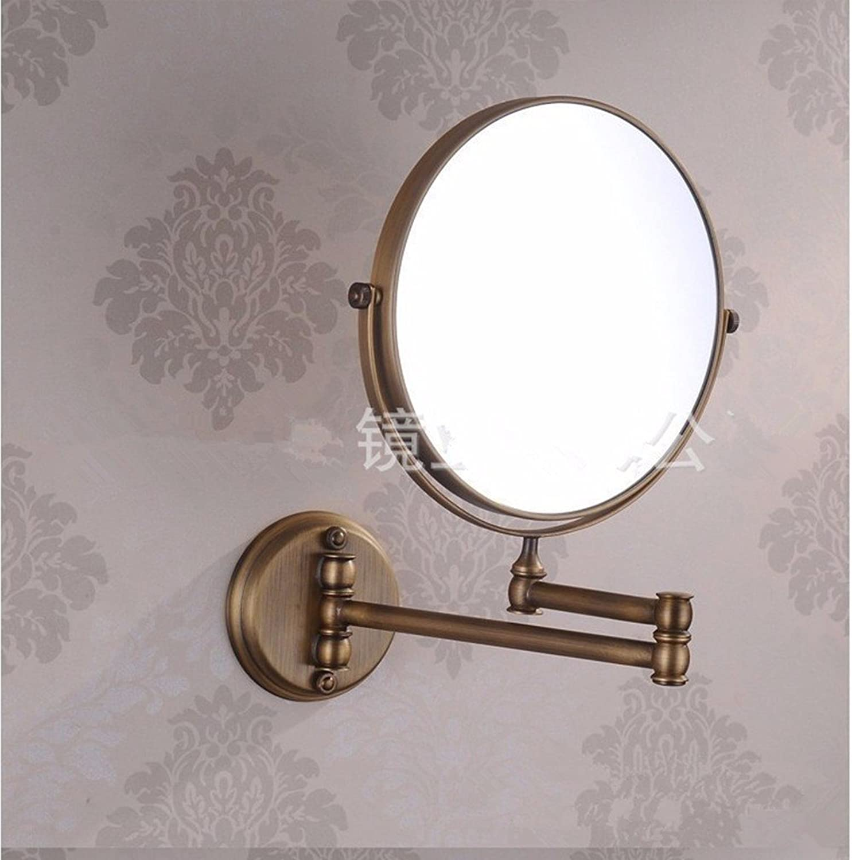 Folding mirror wall mirror antique beauty mirror 8 inch