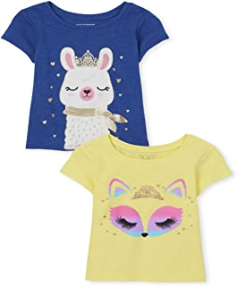 The Children's Place girls Shirts, Pack of Two Shirt
