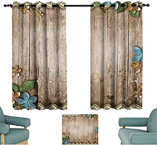 Mannwarehouse Pearls Decor Collection Soft Curtain Rustic Wooden Surface with Flowers Pearls Lace Texture Old Vintage Style Decor Image Noise Reducing 63