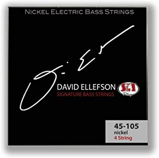 SIT Strings S.I.T. Stay In Tune DE45105L David Ellefson Signature Series 4-String Power Wound Bass (