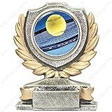 Trofeo Tenis H 12cm la placa personalizada ist compresa en el precio