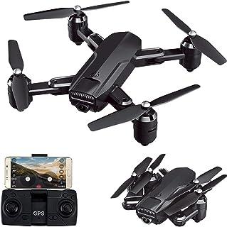 طائرة بدون طيار بنظام تحديد المواقع العالمي مع كاميرا 4K 5G FPV المدى البلي تدفق بصري ذكي اتبع مي طيران طويل مع حقيبة