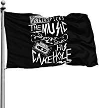 Seasonal Flag for Outdoors, Supernatural Driver Picks The Music Yard Flags | Durable, Polyester, 4X6 Ft