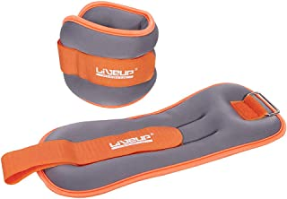 Liveup Ls3049 Wrist/Ankle Weight 2-Pieces 0.5 Kg