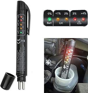OurLeeme Bremsflüssigkeit Bremsflüssigkeitsprüfer, Tester Detektor 5 LED Auto..