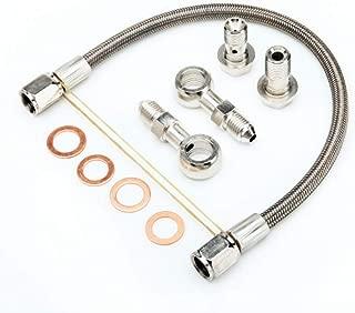 Turbo Oil Feed Line For S14 SR20DET w/Factory T25 Turbo 1.5mm Restrictor