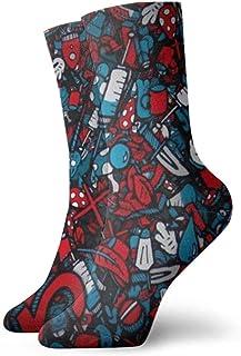 Calcetines bonitos para niños y niñas, suaves y transpirables con diseño de moda