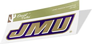 James Madison University JMU Dukes NCAA Vinyl Decal Laptop Water Bottle Car Scrapbook (Sticker - 007)