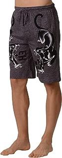 Men's Soft Knit Sleep Lounge Pajama Shorts