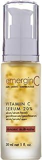 emerginC 20% Vitamin C Facial Serum - Extra Strength Micro-Encapsulated Spheres + Brightening Complex to Help Address Visi...