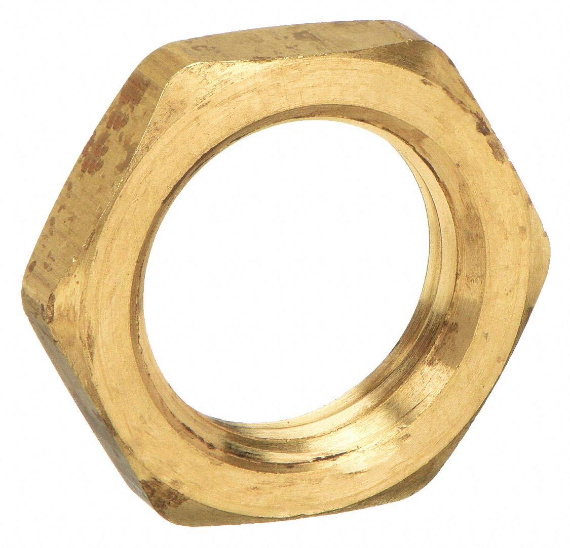 NPSL Lock Nut Brass NPSL 1//8 Parker 210P-2 Pipe Fitting