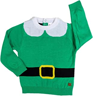 Infant Elf Ugly Christmas Sweater - Cute Christmas Sweater for Baby