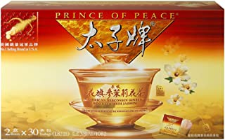 Prince of Peace®Amercian Ginseng Tea with Jasmine - Twin Pack (2 boxes X 30 sachets)