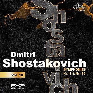 Dmitri Shostakovich, Vol. 10: Symphonies Nos. 1 & 15