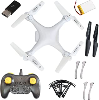 Amitasha Drone Quadcopter Without Camera with 6-Axis, Flashy Lights & 360 Degree Rolling Function   Altitude Hold RC Drone...