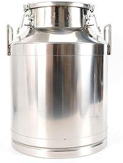 Lait en acier boîte de 60 litres du lait de cauchée à vin de la cauchure de 15,8 gallon lait peut,60L/15.8 Gallon