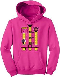 Tstars - キュート消防士ハロウィンコスチュームギフト スイート消防士ハロウィンプレゼント ハロウィン消防士プレゼント キッズパーカー