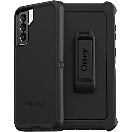OtterBox DEFENDER SERIES SCREENLESS EDITION Case for Galaxy S21+ 5G - BLACK